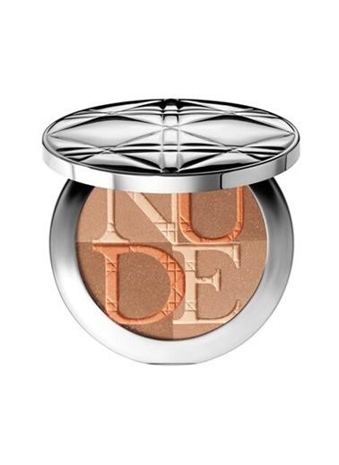 Dior Dior Diorskin Nude Shimmer Illuminating Powder 002 Amber Pudra Pudra